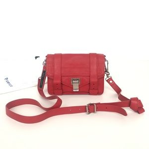 PROENZA SCHOULER PS1 RED MINI CROSSBODY